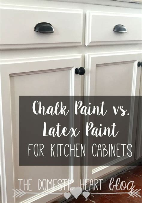 chalkboard paint vs flat paint chalk paint vs paint for kitchen cabinets diy