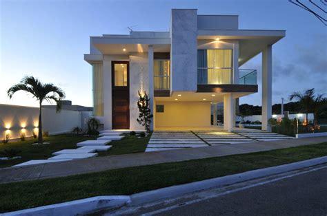 8 casas fachadas espetaculares