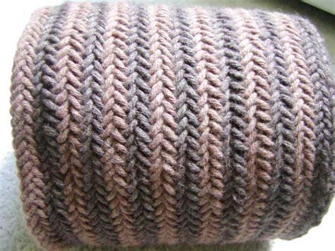 herringbone knit knits want reversible herringbone scarf