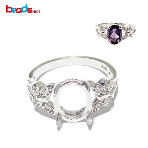 jewelry ring settings beadsnice id27356 jewelry findings diy butterfly ring