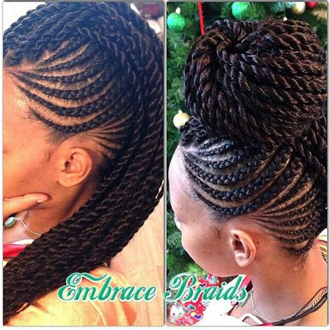braids with black hair braids on black braids micro