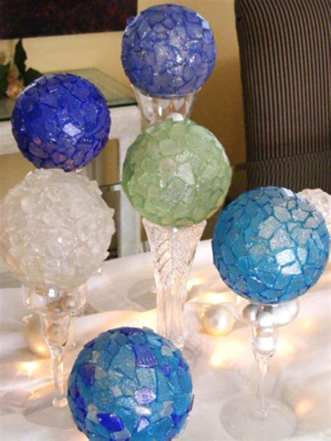 glass ornaments crafts sea glass ornaments hgtv