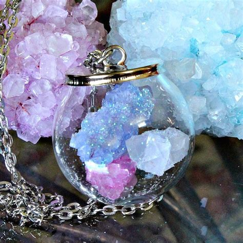 how to make jewelry with crystals crafty science jewelry with diy borax