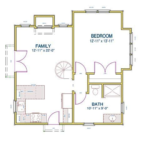 cottage floor plans with loft 287 best images about small space floor plans on