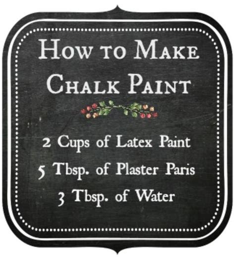 chalk paint how to make 11 diy chalk paint recipes and ideas tip junkie