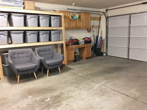 garage makeovers prescott view home reno garage makeover progress and