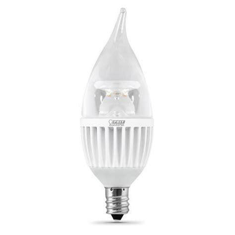 led chandelier bulbs dimmable feit dimmable chandelier led light bulb at menards 174