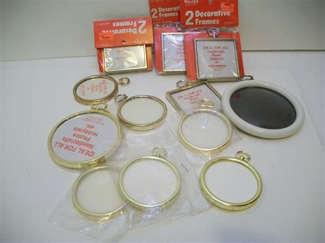 craft frames for craft supplies lot of 16 small plastic frames and