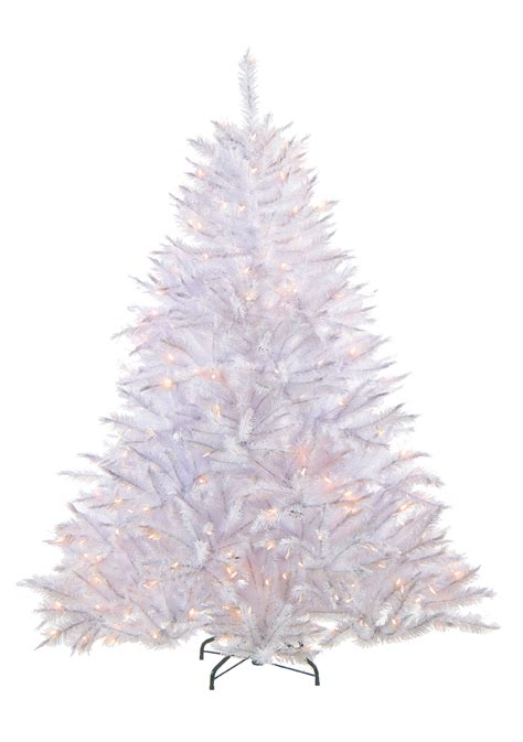 tree in white the white alpine spruce artificial trees