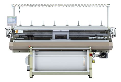 knitting machine shima seiki unveils new flat knitting machines for inlay