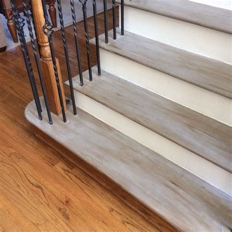chalk paint stairs 25 best ideas about painted stairs on