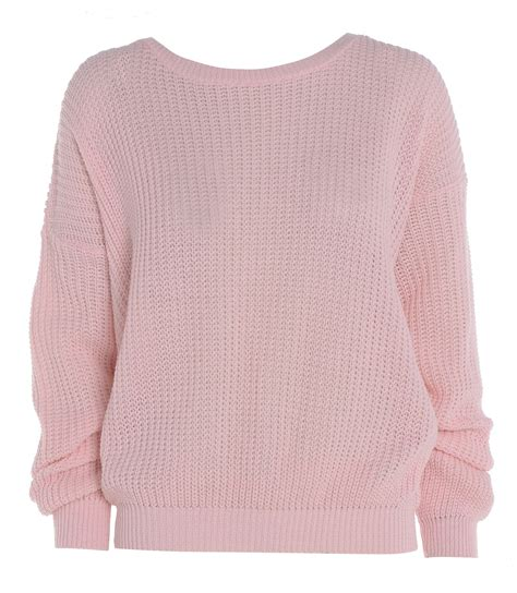 knitted womens jumpers new womens plain oversized baggy knitted jumper