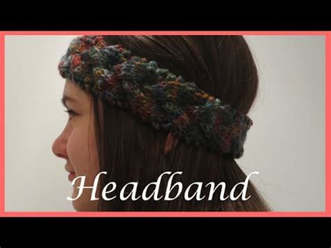 how to end a knitted headband how to knit a braided headband