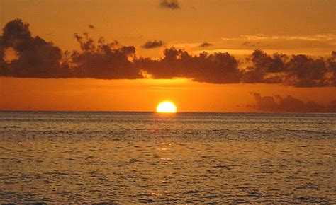of a pictures of a sunset at the maldives
