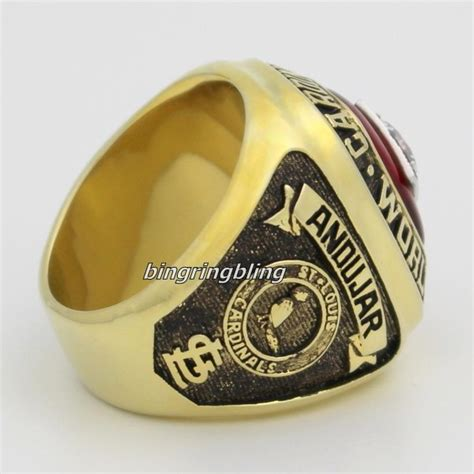 jewelry classes st louis mlb 1982 st louis cardinals chionship ring world series