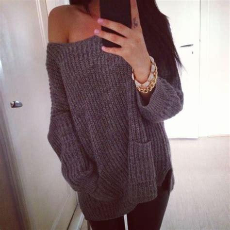 big knit jumpers big comfy sweaters