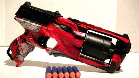 spray painter blaster how to swirl paint a nerf gun strongarm