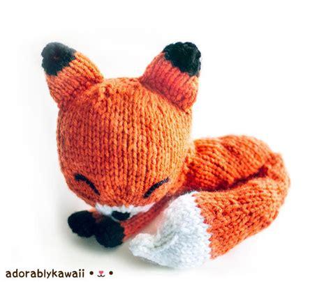 amigurumi knitting patterns for beginners knit sleepy fox amigurumi by adorably kawaii craftsy