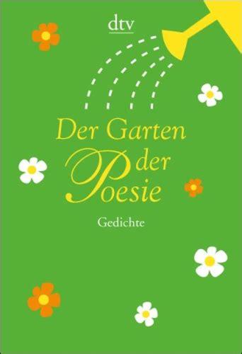 Garten Der Poesie by Leitner Trinckler Hrsg Der Garten Der Poesie Anton