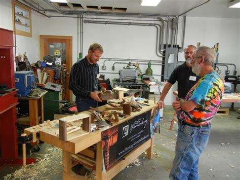 heritage school of woodworking lie nielsen open house may woodcarver