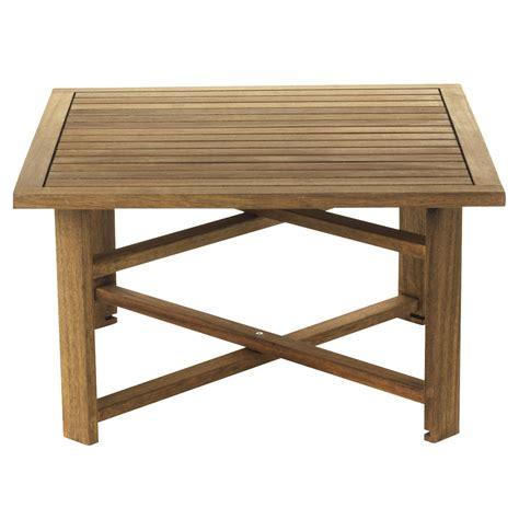 Table Pour Terrasse 4312 table basse pliante de jardin naturel guerande les
