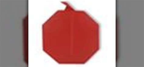 origami apple how to origami an apple japanese style 171 origami