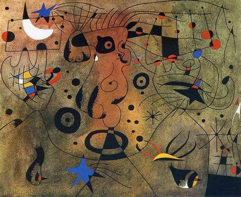 show about painting constellations 1940 by joan miro