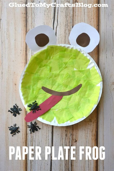 frog paper plate craft paper plate frog kid craft