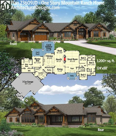 house plans for ranch style homes best 25 ranch homes ideas on ranch style