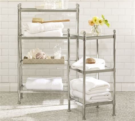 metal bathroom storage metal etagere traditional bathroom cabinets and