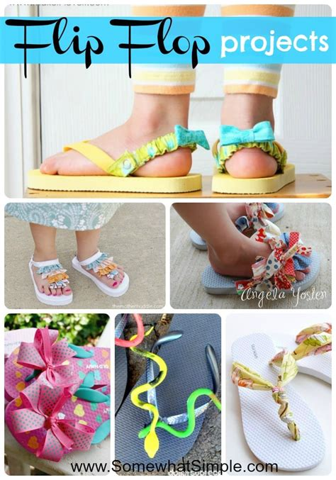 flip flop craft projects add some to your 15 creative flip flop ideas