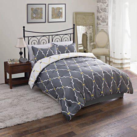 comforter sets walmart trellis reversible bedding comforter set walmart