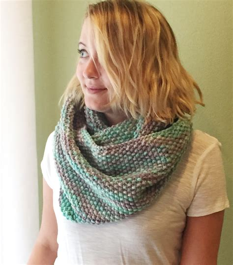infinity scarf knit pattern for beginners free seed stitch infinity scarf pattern almost identical