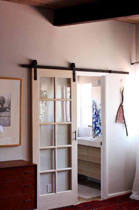 hanging doorway external sliding door by elise blaha cripe hanging barn