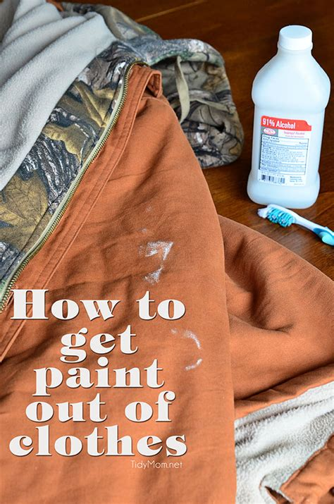 acrylic paint how to remove from clothes how to get paint out of clothes