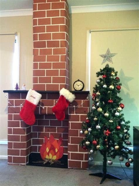 chimney decoration 25 unique cardboard fireplace ideas on