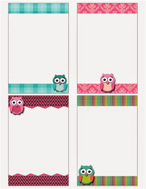 make note cards and print my fashionable designs free printable owl notecards