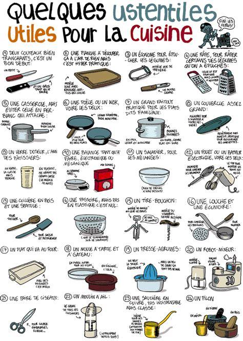 zag bijoux liste des ustensiles de cuisine