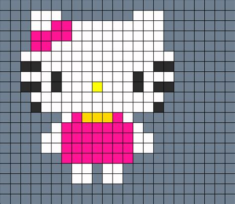 hello hama bead pattern patterns for perler free patterns
