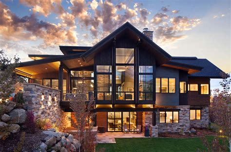 modern home house plans breathtaking contemporary mountain home in steamboat springs