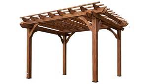 leisure time products pergola cedar pergola with sturdy beams for patio shade and