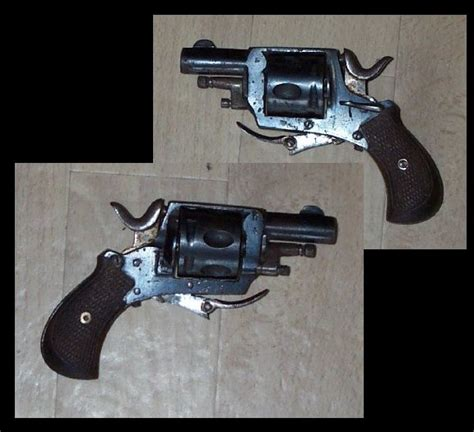 Five Frame belgian bulldog revolver cal 320 cf with safety catch