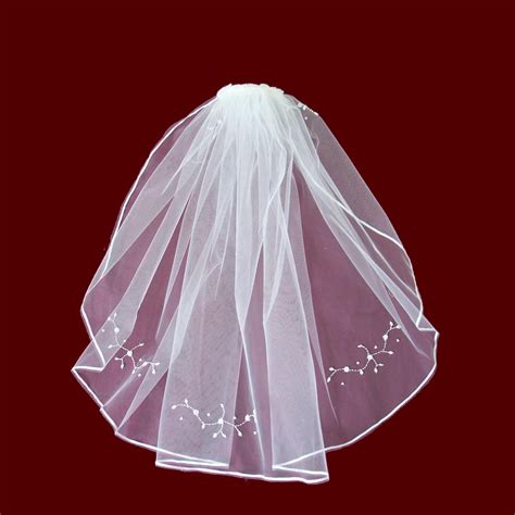 beaded trim for veil pearl trim comb with beaded floral veil smocked treasures