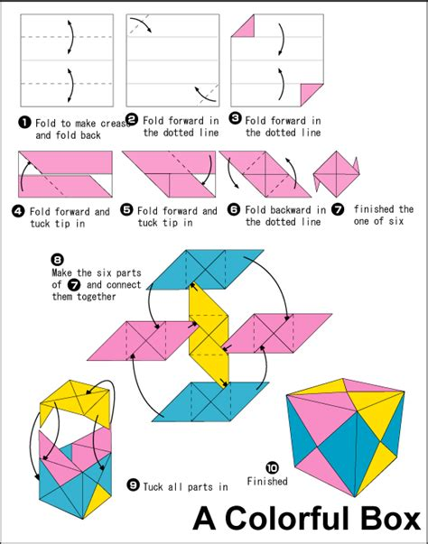 how to make origami cube origami