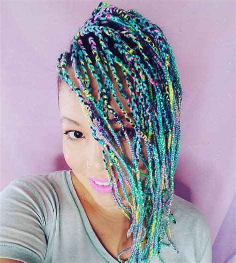 knits hair 20 cosy hairstyles with yarn braids