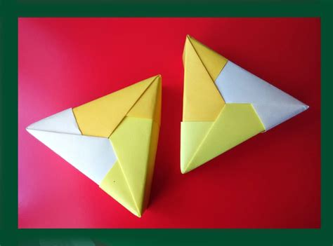triangle box origami free coloring pages easy origami triangle gift box ideas