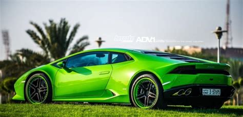 Verde Mantis Lamborghini Huracan on ADV05