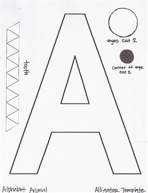 craft templates for miss maren s monkeys preschool a a alligator