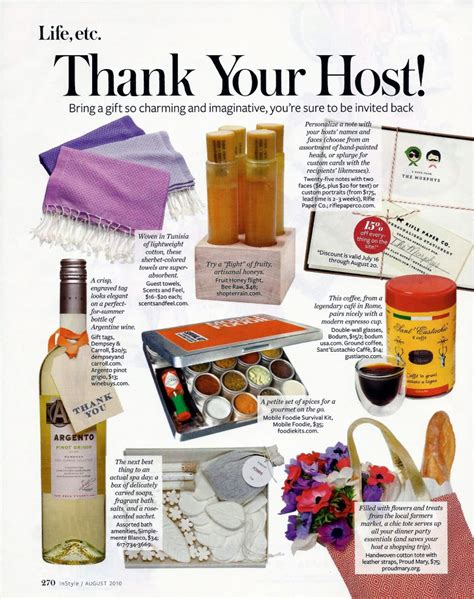 hostess gift ideas dressed to a t