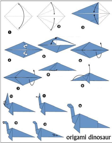 how to make origami dinosaur jurassic park origami on origami dinosaurs